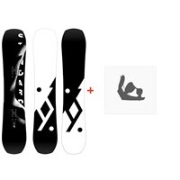 Snowboard Yes Standard 2020 + Fixations de snowboardSY200125