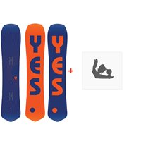 Snowboard Yes The Y. 2020 + Fixations de snowboardSY200158