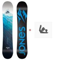 Jones Snowboard Aviator 2020 + Fixations de snowboardSJ200130