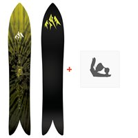 Jones Snowboard Lone Wolf 2020 + Fixations de snowboardSJ200175