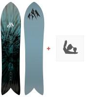Jones Snowboard Storm Chaser 2020 + Fixations de snowboard