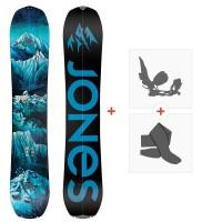 Jones Splitboards Frontier Split 2020 + Fixations de Splitboard + PeauxSJ200215