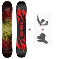 Jones Splitboards Mountain Twin 2020 + Fixations de splitboard + PeauxSJ200225