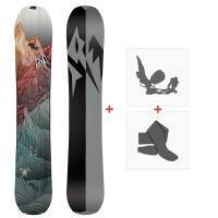 Jones Splitboards Solution 2020 + Fixations de Splitboard + PeauxSJ200205