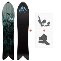 Jones Splitboards Storm Chaser 2020 + Fixations de splitboard + PeauxSJ200235