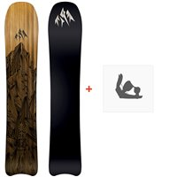 Jones Snowboard Ultracraft 2020 + Fixations de snowboard
