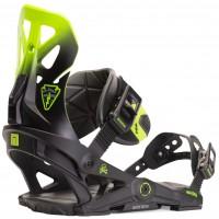 Fixation Snowboard Now Brigade Black/Green 2020