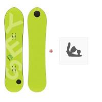 Snowboard Yes Pow Inc 2020 + Fixations de snowboardSY190199