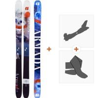 Ski Armada Arv 106 2020 + Fixations de ski randonnée + PeauxRA0000114