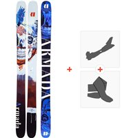 Ski Armada Arv 116 JJ 2020 + Fixations de ski randonnée + PeauxRA0000120
