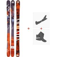 Ski Armada Arv 86 2020 + Fixations de ski randonnée + PeauxRA0000116