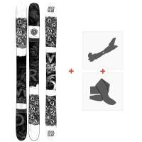 Ski Armada Arw 116 Vj 2020 + Fixations de ski randonnée + PeauxRA0000138