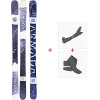 Ski Armada Arw 84 2020 + Fixations de ski randonnée + PeauxRA0000152