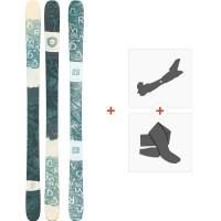 Ski Armada Arw 86 2020 + Fixations de ski randonnée + PeauxRA0000128