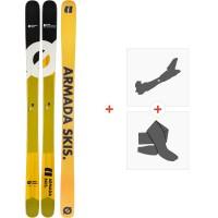 Ski Armada Bdog Edgeless 2020 + Fixations de ski randonnée + PeauxRA0000164