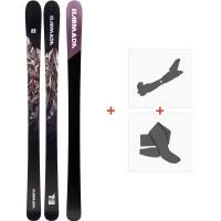 Ski Armada Invictus 95 2020 + Fixations de ski randonnée + PeauxRA0000098