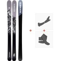 Ski Armada Invictus 99 Ti 2020 + Fixations de ski randonnée + PeauxRA0000102