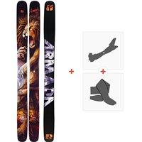 Ski Armada Magic J 2020 + Fixations de ski randonnée + PeauxRA0000094