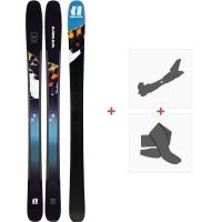 Ski Armada Trace 98 2020 + Fixations de ski randonnée + PeauxRA0000140