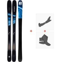 Ski Armada Tracer 98 2020 + Fixations de ski randonnée + PeauxRA0000132