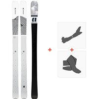 Ski Armada Victa 83 2020 + Fixations de ski randonnée + PeauxRA0000106