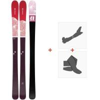 Ski Armada Victa 87 Ti 2020 + Fixations de ski randonnée + PeauxRA0000108