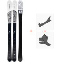 Ski Armada Victa 93 2020 + Fixations de ski randonnée + PeauxRA0000104
