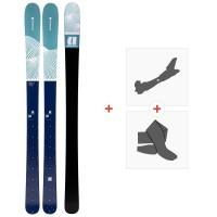 Ski Armada Victa 97 Ti 2020 + Fixations de ski randonnée + PeauxRA0000110