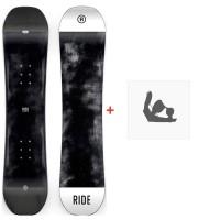 Snowboard Ride Lowride 2020 + Fixations de snowboard12D0022.1.1