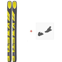 Ski Kastle FX116 2020 + Fixations de skiAF11619